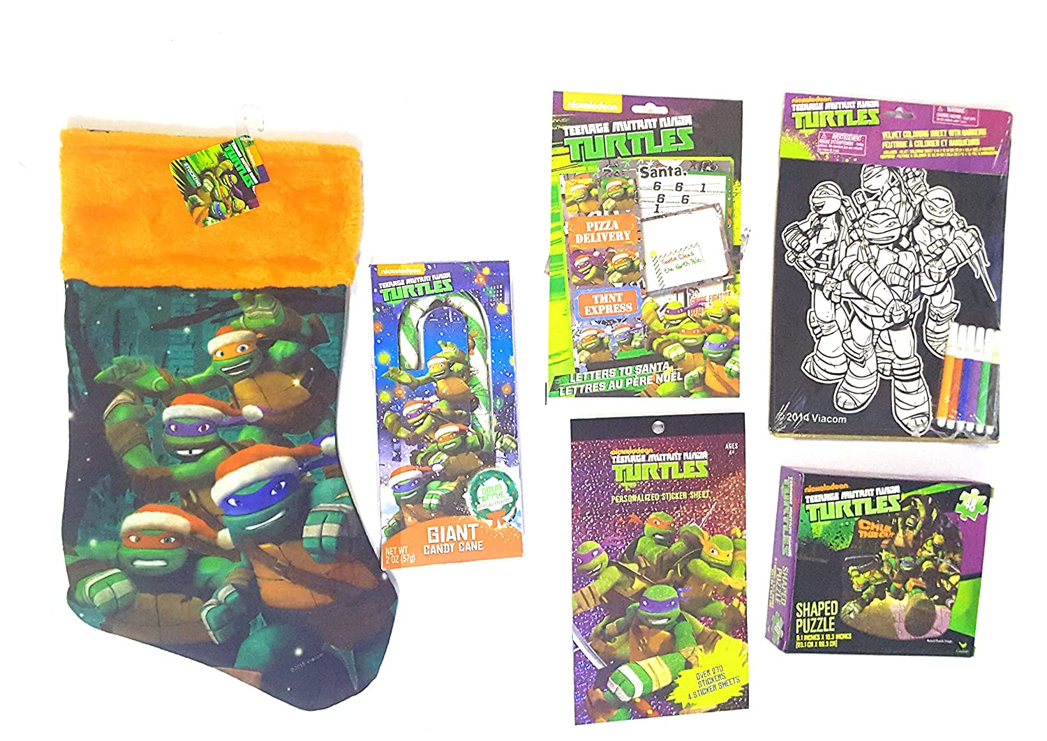 teenaged Mutant Ninja Turtles calcetín Stuffer Bundle de 6 ...
