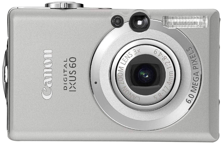 "Canon IXUS 60 Digital Camera - Silver 2.5"" LCD: Amazon.co.uk: Camera & Photo"