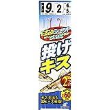 ハヤブサ(Hayabusa) ライトショット 投げキス 2本鈎2セット 9-2