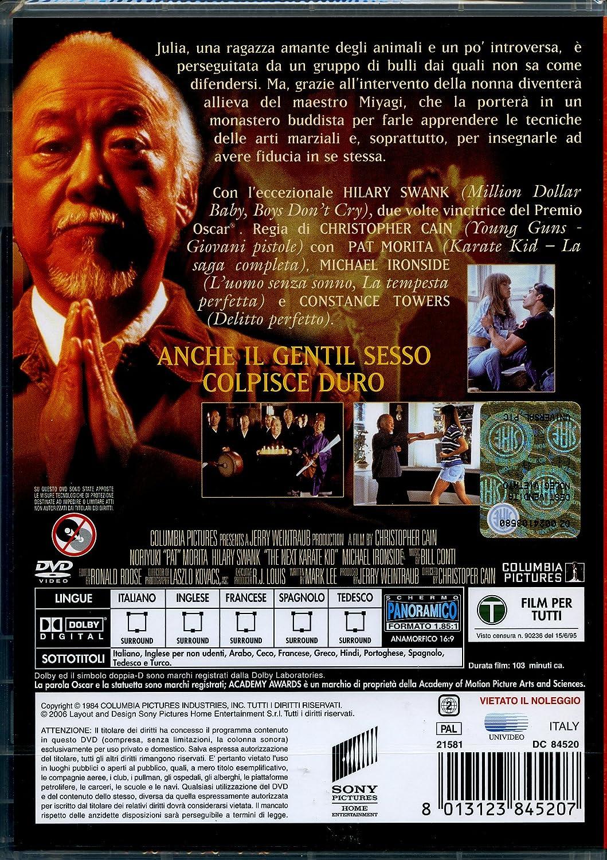 Karate Kid 4: Amazon.co.uk: hilary swank, pat morita, christopher cain: DVD & Blu-ray