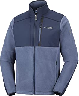 Columbia Titan Frost™ Fleece Jacket Phoenix Blue, Black