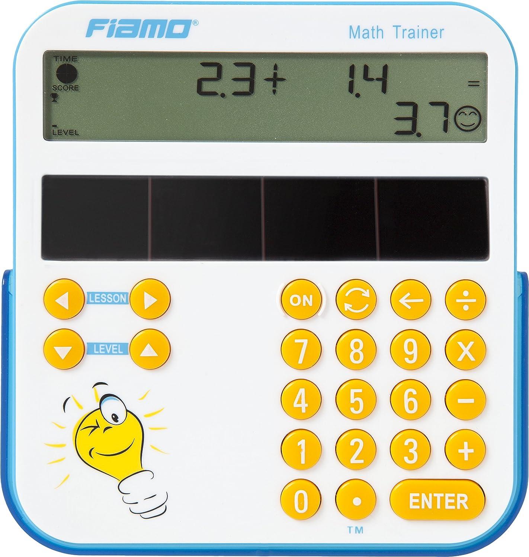 il /è progettato appositamente per bambini a partire dai 5/anni di et/à Bianco Educativo sussidi didattici unico Fiamo Math Trainer Strumento di apprendimento
