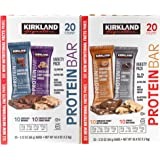 Kirkland Signature Protein bar energy variety pack, (Variety, 40 Count)