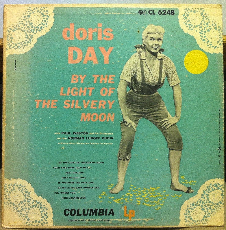 Doris Day DORIS DAY BY THE LIGHT OF THE SILVERY MOON vinyl record