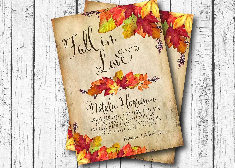 761efef8f839 Amazon.com  Fall in Love Bridal Shower