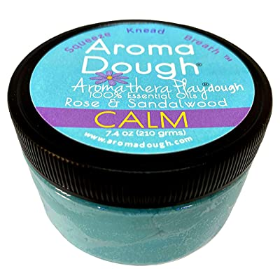 Aroma Dough Therapy Dough – Calming Blend of Essential Oils – Gluten-Free & Non-Allergenic – Child & Adult Therapy Tools – Help to Promote Calm & Reduce Anxiety – Sensory Room Equipment – 8.5 Oz: Toys & Games