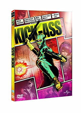 Kick Ass-Edición Comic [DVD]: Amazon.es: Aaron Johnson ...