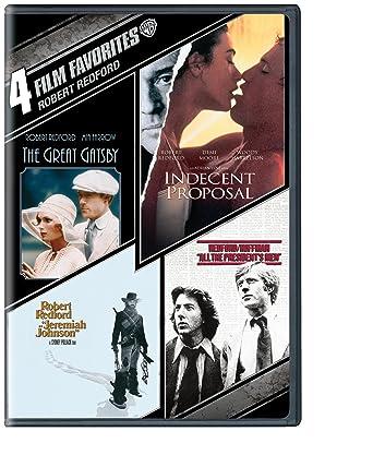 Amazon 4 Film Favorites Robert Redford The Great Gatsby