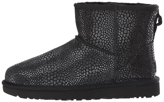 Botas 1019637 Mini Glitzy UGG, NEGRO, 41 EU: Amazon.es: Zapatos y ...