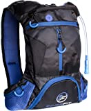 Hydration Pack with 1.5L Water Bladder – Highly Durable – Versatile & Lightweight Blue Hydration Backpack – Multi Storage – Perfect for Running - Hiking - Climbing - Cycling - Trail - Ski