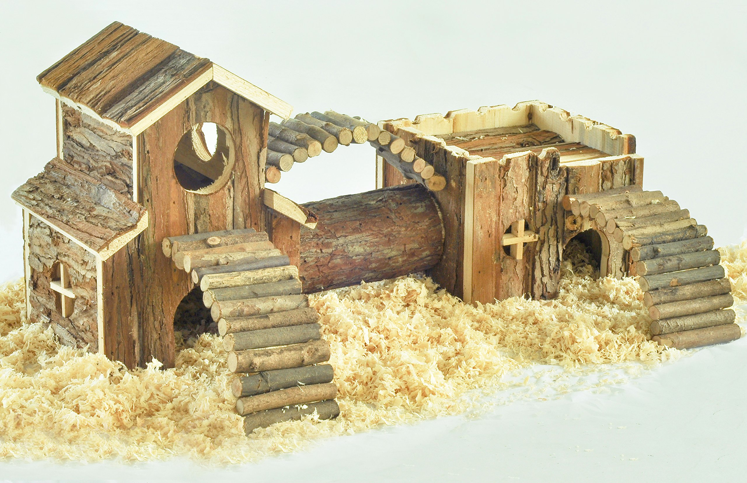 Niteangel Natural Living Tunnel System, Small Animal House by Niteangel