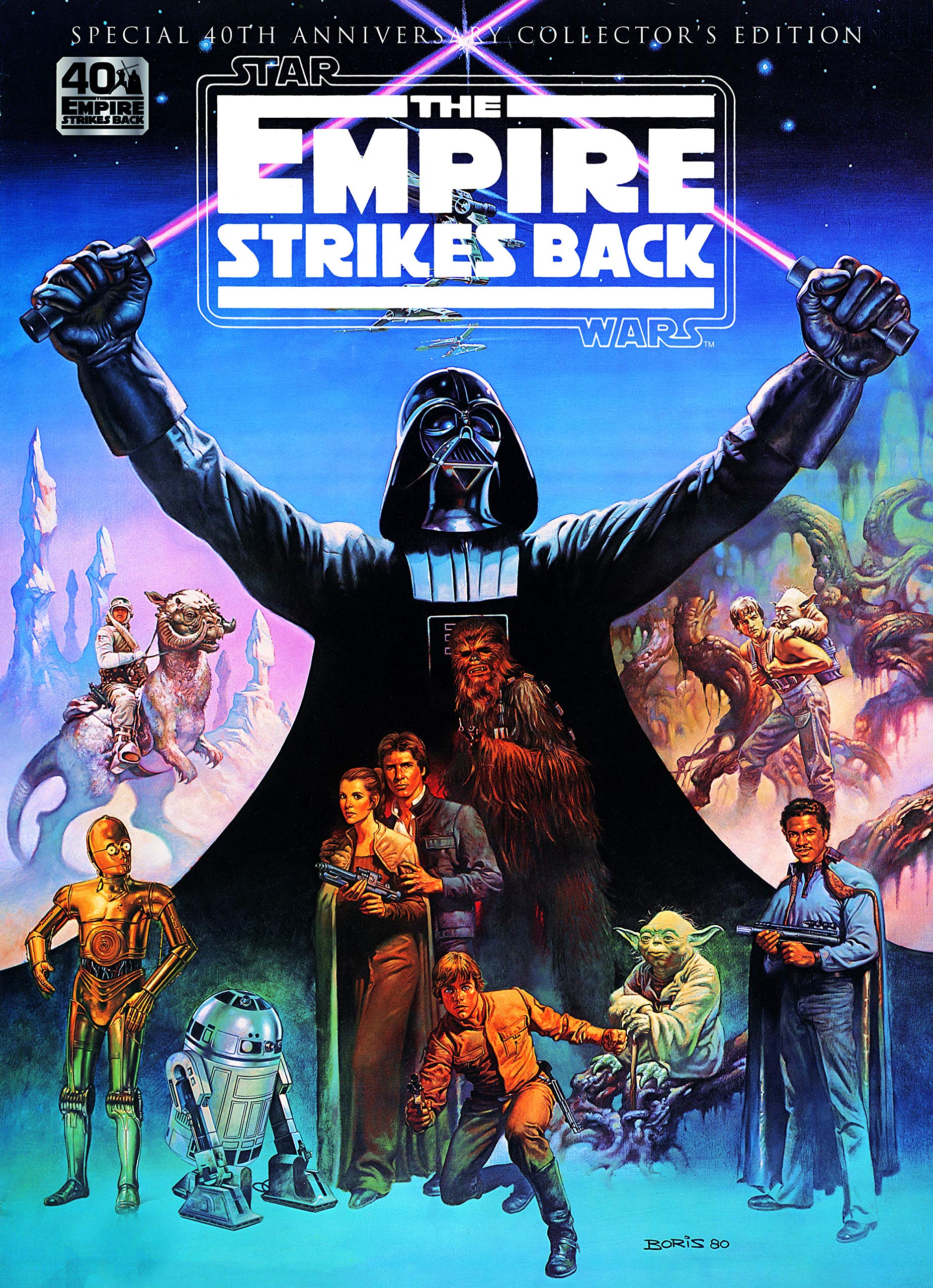Star Wars: The Empire Strikes Back 40th Anniversary Special Book ...