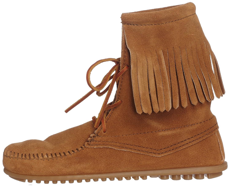 Minnetonka Women's Tramper Ankle Hi Boot B078KJ4TWW 38-39 M EU / 8 B(M) US|Taupe Suede