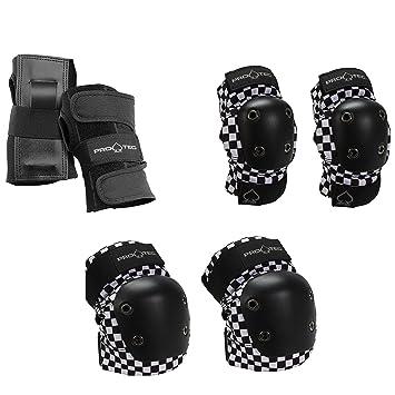 8627f298db Amazon.com : Pro-tec Double Down Knee Pad : Sports & Outdoors