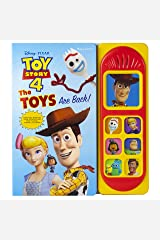 Disney Pixar Toy Story 4 - The Toys are Back! Sound Book - PI Kids (Play-A-Sound) Board book