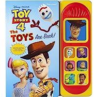 Disney Pixar Toy Story 4 - The Toys are Back! Sound Book - PI Kids (Play-A-Sound)