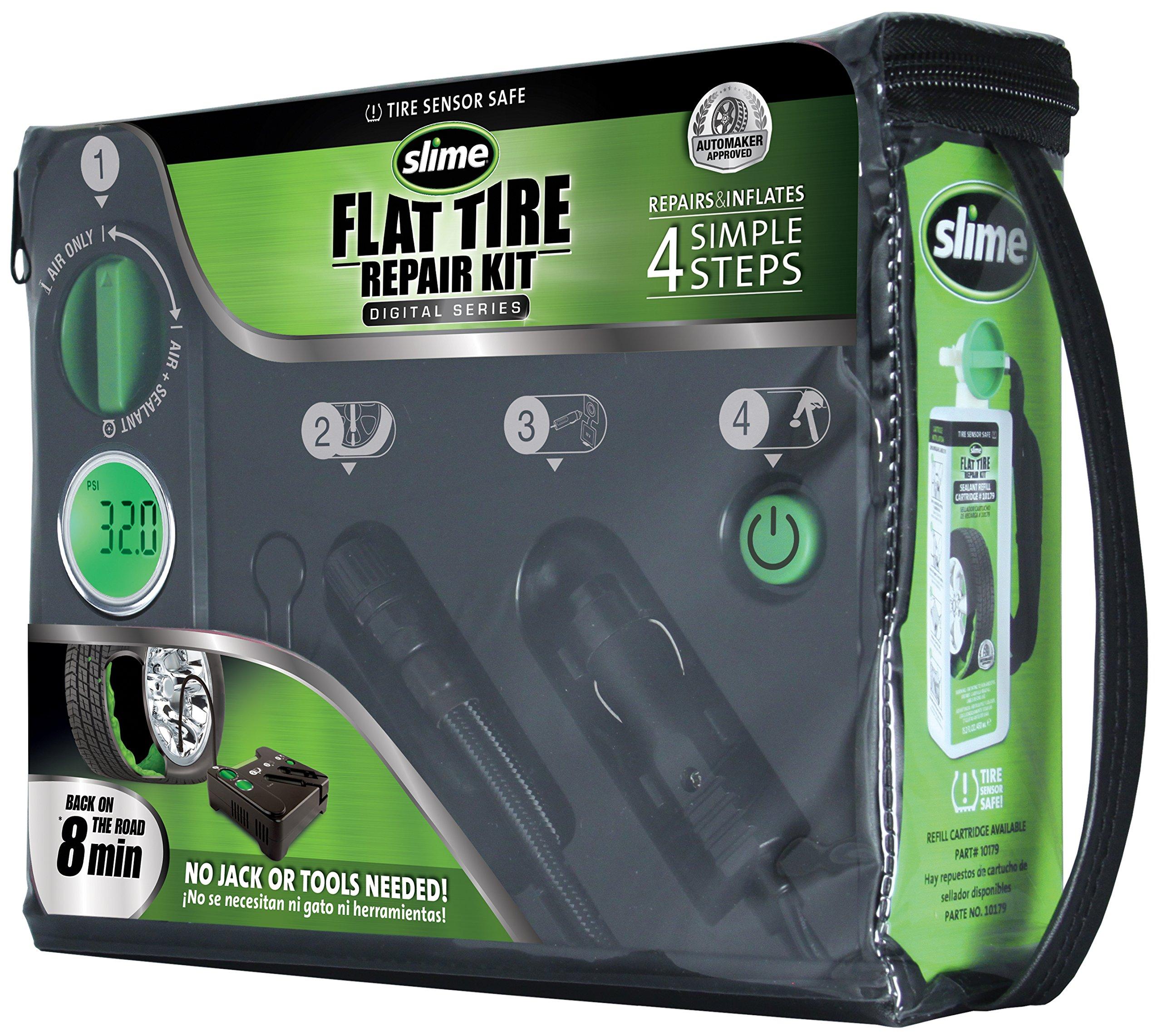 Slime 50123 Digital Emergency Flat Tire Repair Kit by Slime (Image #2)