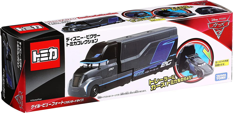 TAKARA TOMY Disney Cars Tomica Gale Beufort Transporter type Mini Toy