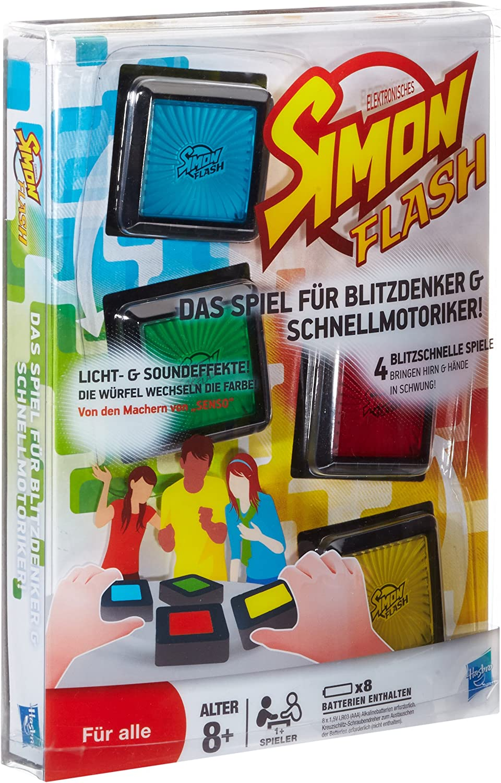 Hasbro 32730100 - Juego Simon Flash (en alemán): Amazon.es ...