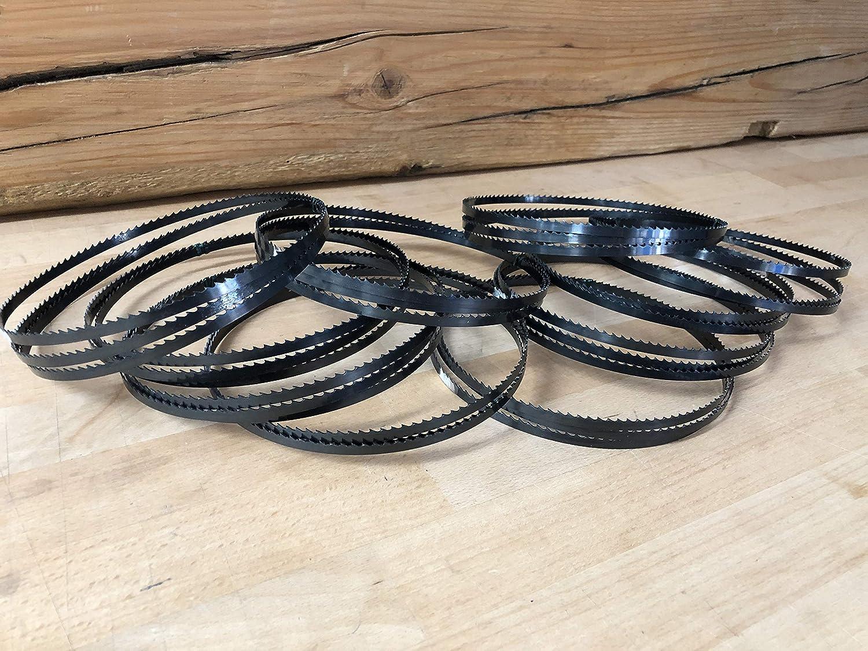 10x Bands/ägebl/ätter 1425mm x 6mm x 0,65mm 6ZpZ