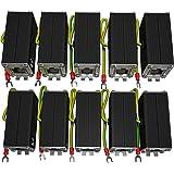 Ethernet Surge Protector (10 Pack) PoE+ Gigabit - Gas Discharge Tube for Full Protection -Mounting Flange- RJ45 Lightning Sup