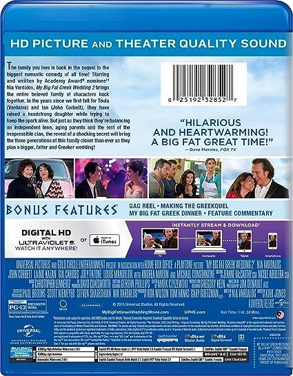 Amazon Com My Big Fat Greek Wedding 2 Blu Ray Nia Vardalos Kirk