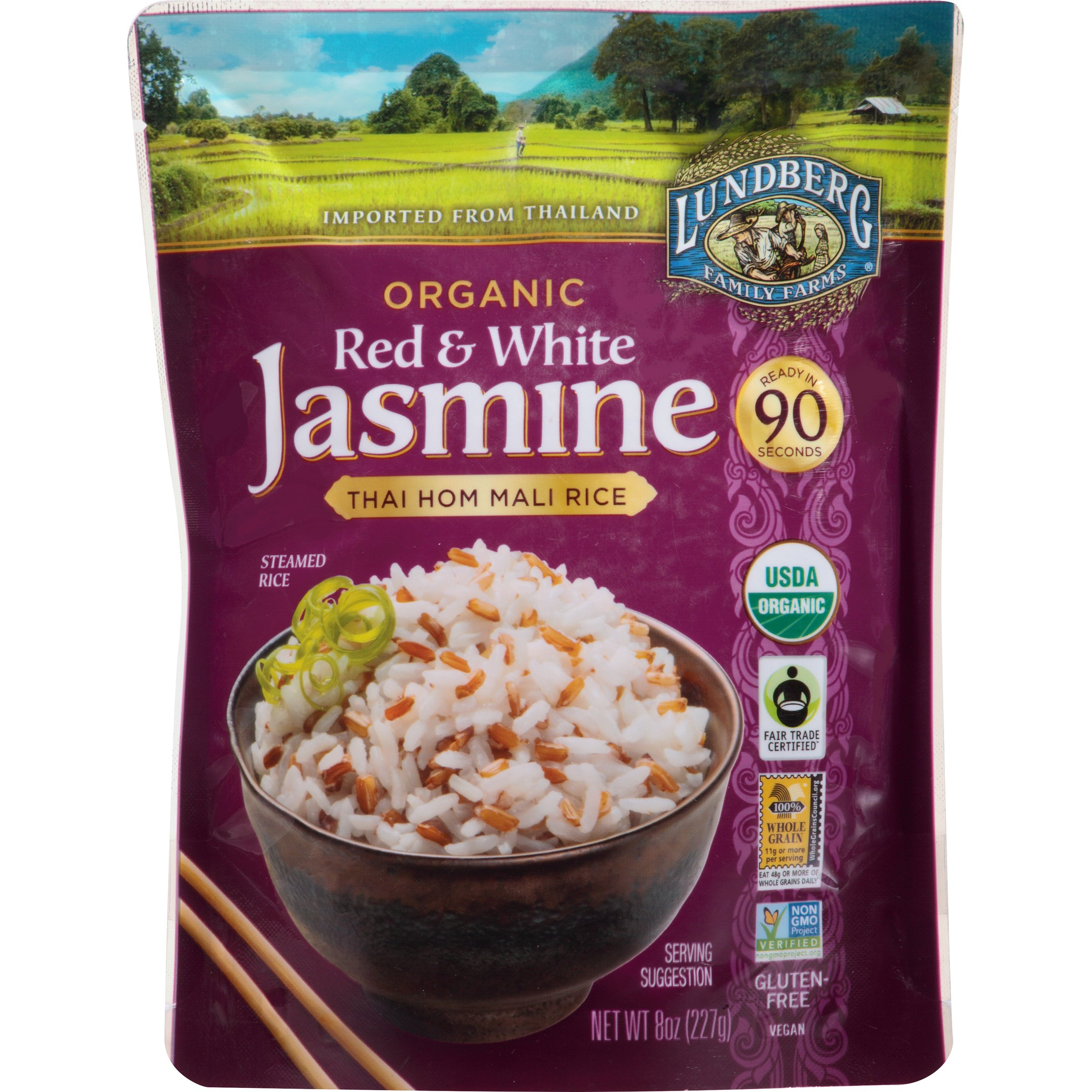 Amazon.com : Lundberg Family Farms Organic Brown Jasmine