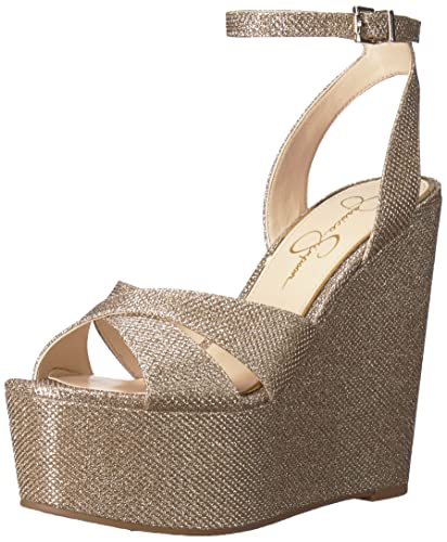 e5c7338135a7 Amazon.com  Jessica Simpson Women s Prena Wedge Sandal  Shoes