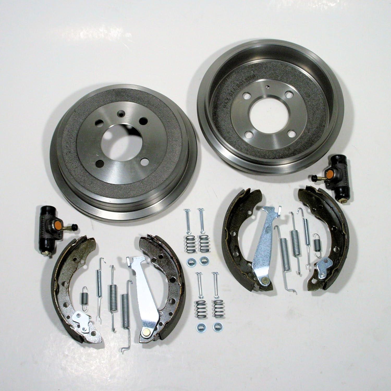 Ø 180 mm Bremstrommel/Bremsen Set mit Zubehör hinten Autoparts-Online