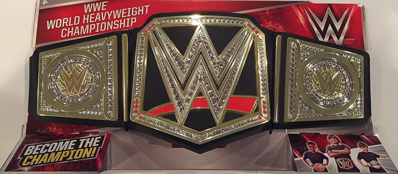 WWE World Heavyweight Championship Belt with NEW WWE LOGO