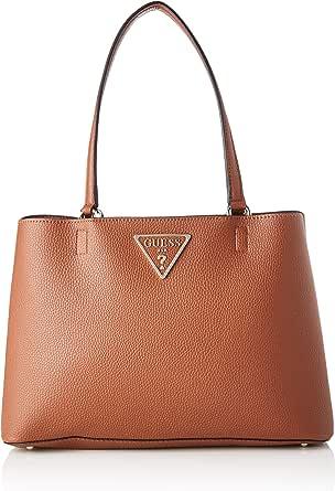 GUESS Womens Girlfriend Carryall Bag, Cognac - VG743910