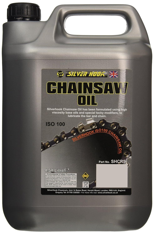 Silverhook SHCR5 Chainsaw Oil ISO 100, 4.54 Litres Silverhook ltd
