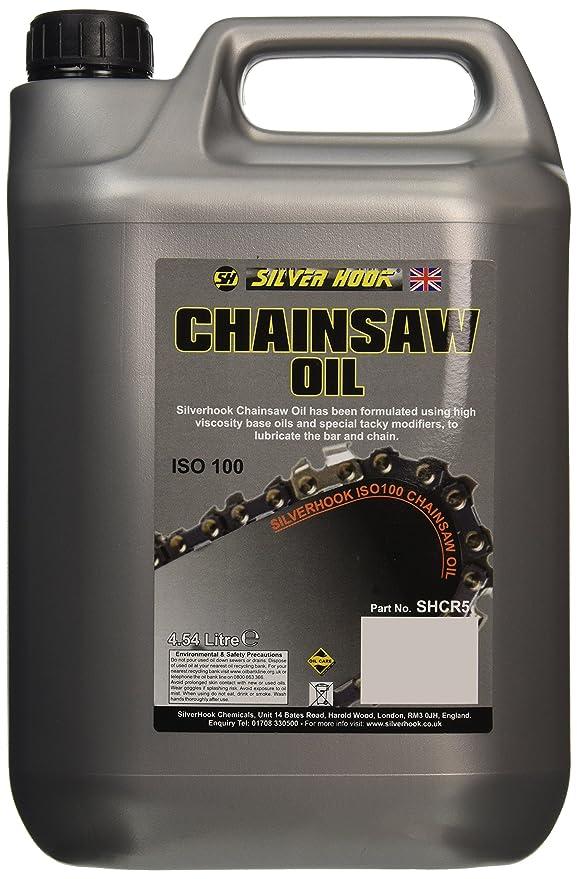 Silverhook shcr5 motosierra Aceite ISO 100, 4.54 Litres ...