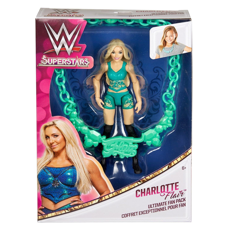 WWE Superstars Ultimate Fan Pack 17cm ACTION FIGURE-Charlotte