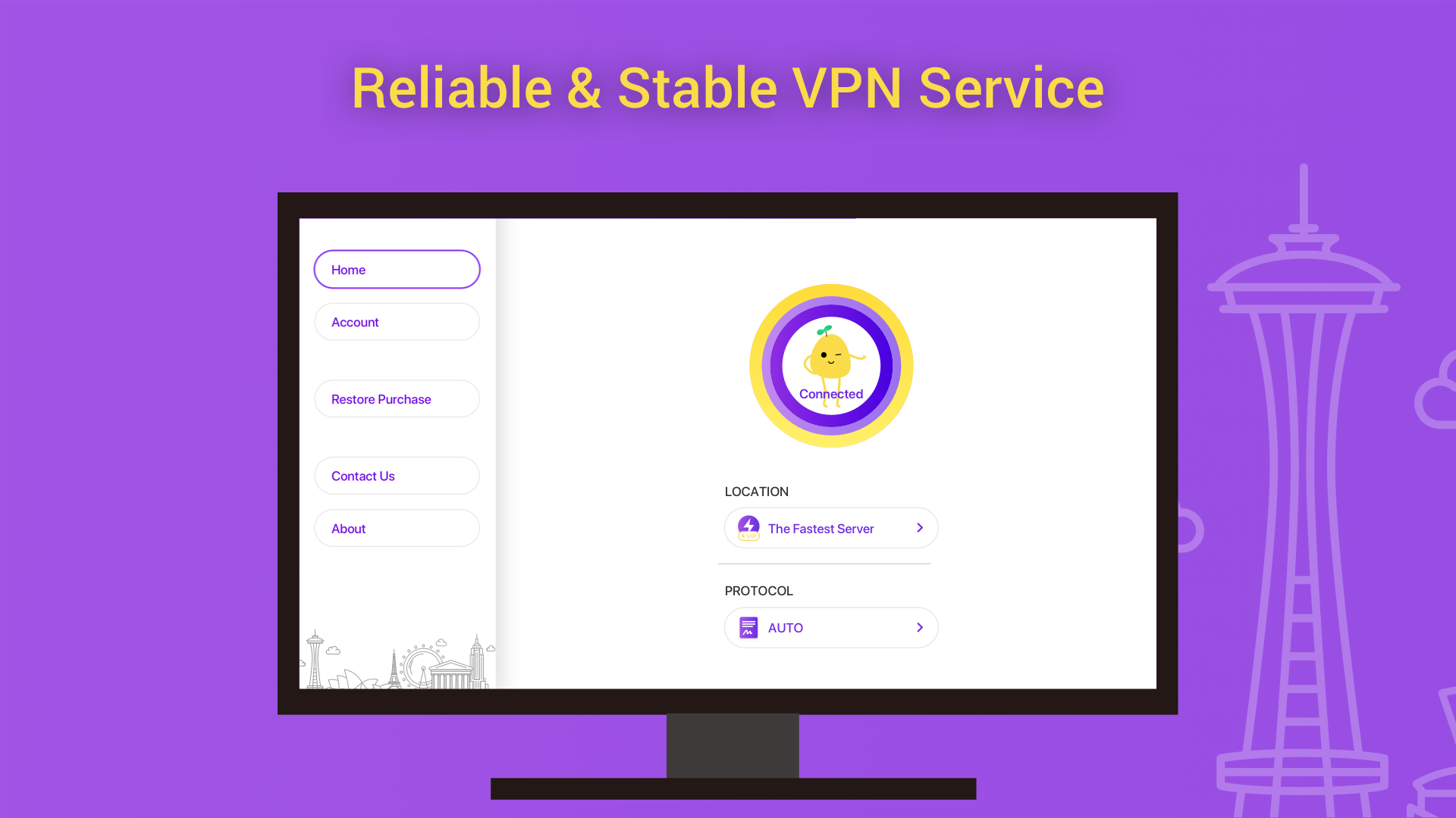 Amazon.com: VPN PotatoVPN - Fast & Secure VPN Proxy: Appstore for Android