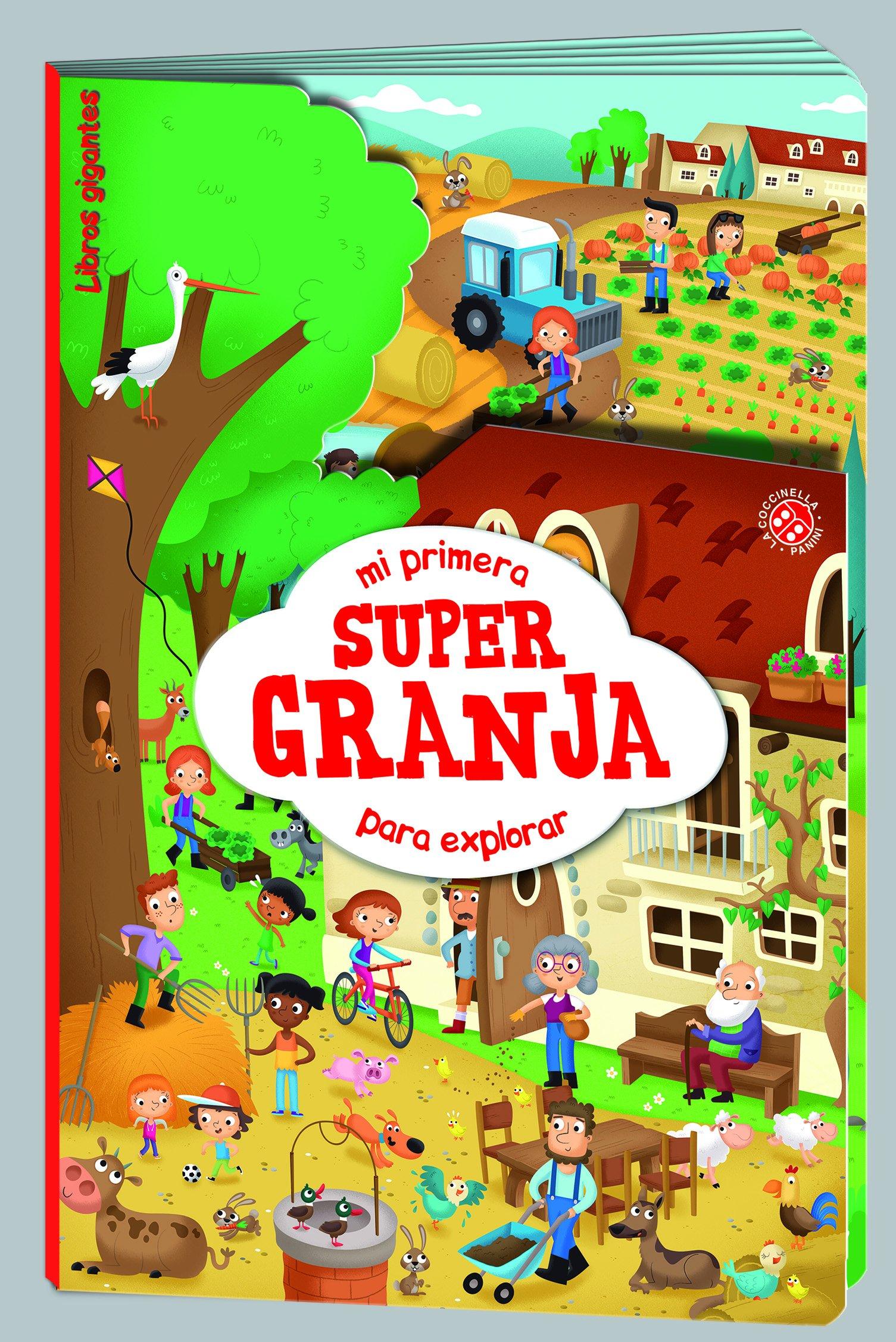 5bfb3f648c96 MI PRIMERA SUPER GRANJA PARA EXPLORAR- LIBRO GIGANTE (Spanish) Paperback