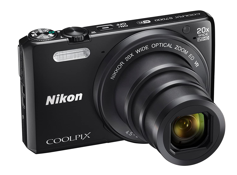 Nikon Coolpix S7000 - Cámara compacta de 16 MP (Pantalla de 3 ...
