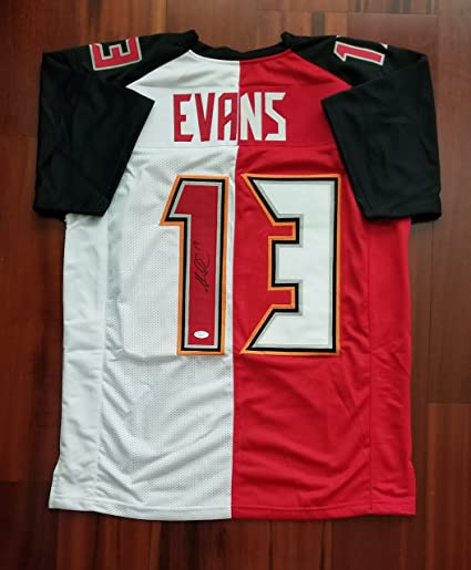 8c8eeca8 Mike Evans Autographed Signed Jersey Tampa Bay Buccaneers JSA at ...