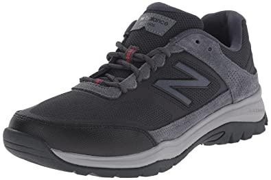 New Balance Men's MW669V1 Walking Shoe, Grey/Red, ...