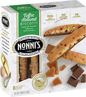 product image for Nonni's Toffee Almond Biscotti Cookies 6.88 oz (Pack of 12)