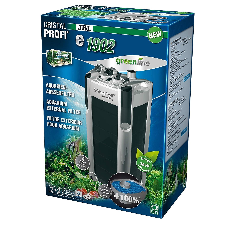 JBL Filtro Cristal Profi E1902 Greenline para acuariofilia 1900 L/H: Amazon.es: Productos para mascotas