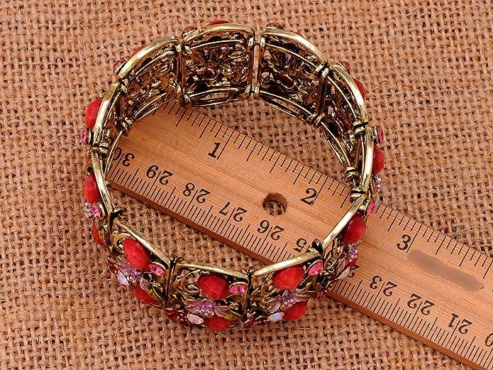 floral rhinestone bracelet blue rhinestone flower bracelet vintage silver flower link bracelet segment as is for repair or reuse