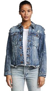 26ec4c43 Zara Women Denim jacket with puff sleeves 5252/016 (Medium) at ...