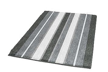 Kleine Wolke 100 Baumwolle Badteppich 70 X 120 Cm Grau