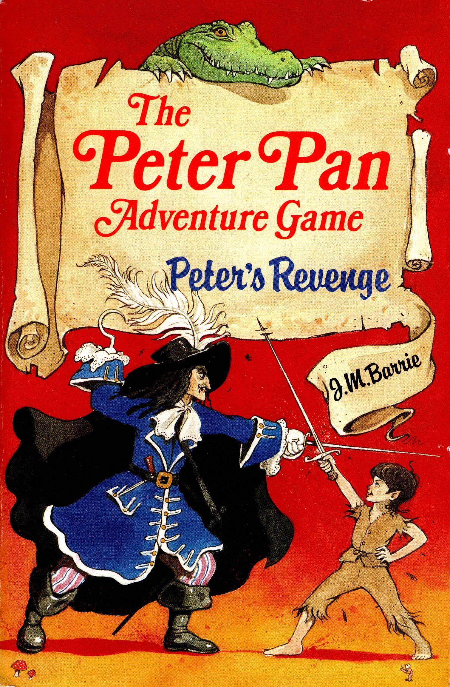 peters revenge an adventure game based on jm barries peter pan and wendy