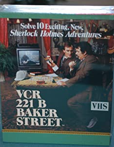 VCR 221 B Baker Street - Sherlock Holmes Adventures by VCR Game