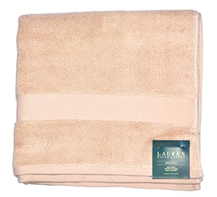 Toalla Towel Ralph Lauren Home Baño cm 142 x 76 Color Beige