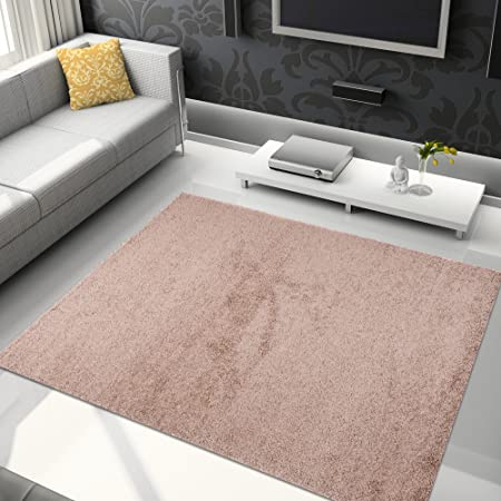 Area Rugs Shaggy For Living Room - TALIA COLLECTION - Colour Light ...