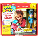 Educational Insights Hot Dots Jr. Let's Master Pre-K Math Set with Ace Pen