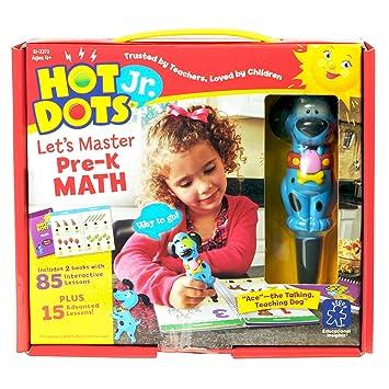 Amazon.com : Educational Insights Hot Dots Jr. Let's Master Pre-K ...